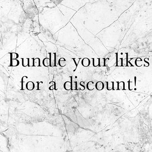 🖤Bundle your likes 2 or more items for 10% off🖤